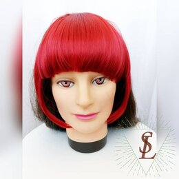 Аксессуары для волос - Густая накладная челка, 0