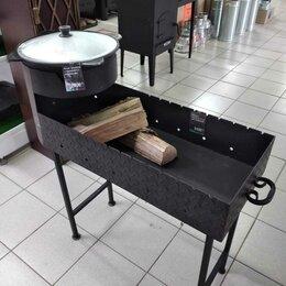 Грили, мангалы, коптильни - Мангал с печью, 0