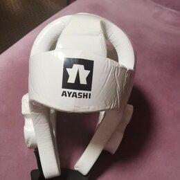 Спортивная защита - Шлем  AYASHI  для тхэквондо белый , 0