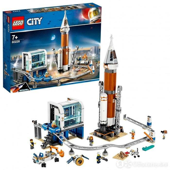 Конструктор Lego City 'Ракета для запуска в далекий космос и пульт управления... по цене 8176₽ - Конструкторы, фото 0