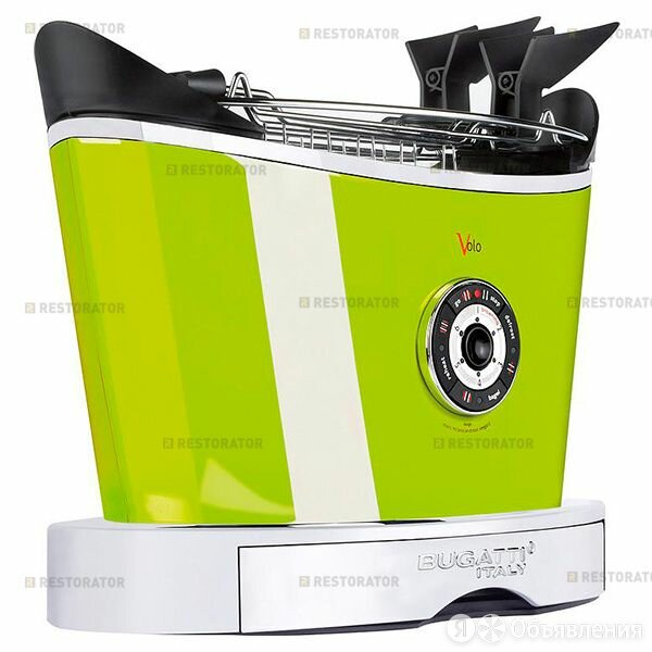 Bugatti Тостер Bugatti VOLO Green по цене 19890₽ - Тостеры, фото 0