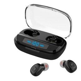 Наушники и Bluetooth-гарнитуры - Наушники  TWS 5.0 Bluetooth+ кейс  3000мАч  (i400 ), 0