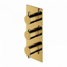 Краны для воды -  Встраиваемый смеситель для ванны Omnires Y Y1238/KROGL (золото), 0
