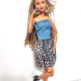 Аксессуары для кукол -  Одежда для Барби. Топ и юбка., 0