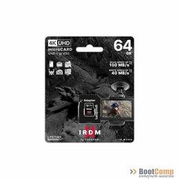 Карты памяти - Память micro Secure Digital Card 64Gb V30 (UHS-I U3) GOODRAM IRIDIUM [IR-M3AA-0, 0