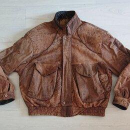 Куртки - Crawford McGregor & Candy Co Ohio Dayton 90s leather jacket, 0