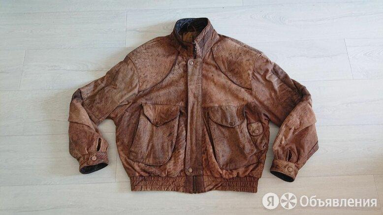 Crawford McGregor & Candy Co Ohio Dayton 90s leather jacket по цене 6000₽ - Куртки, фото 0