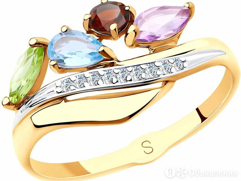 Кольцо SOKOLOV 715626_s_17-5 по цене 8900₽ - Кольца и перстни, фото 0