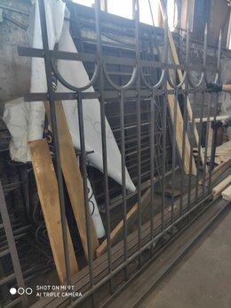 Заборы и ворота - Секции забора кованого, 0
