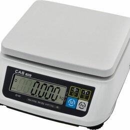 Весы - Весы эл.порционные CAS SWN-30 (DD) ДВА ДИСП, 0