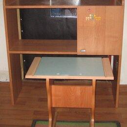 Компьютерные и письменные столы - Столик-тумбочка с табуреткой, 0
