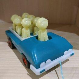 Фигурки и наборы - Советская игрушка Веселые Дутыши на машинке., 0