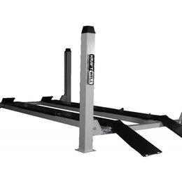 Подъемник и комплектующие - Подъемник четырехстоечный 4,5 тонн KraftWell KRW450AT, электрогидравлический, дл, 0