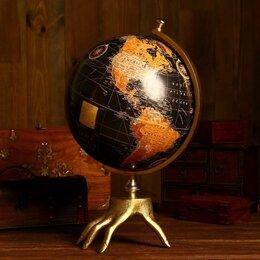 Глобусы - Глобус сувенирный 'Хэнд' 30,5х30,5х47 см, 0