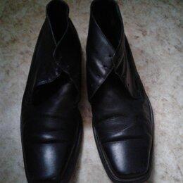 Сапоги - Ботинки кожаные мужские Paul Mitchel, 0