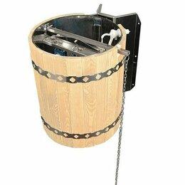 Аксессуары - Новосибирский кедровый завод Обливное устройство «Ливень» 50л с деревянным об..., 0