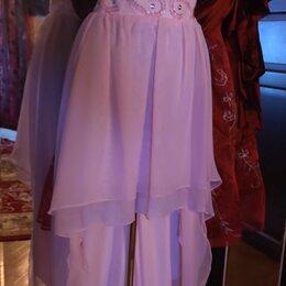 Платья - Платье вечернее ассиметричное, р S, 0
