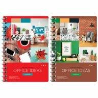 Чехлы для планшетов - Зап. книжка  А6  120л, Офис.Colorful ideas. гребень (18), 0