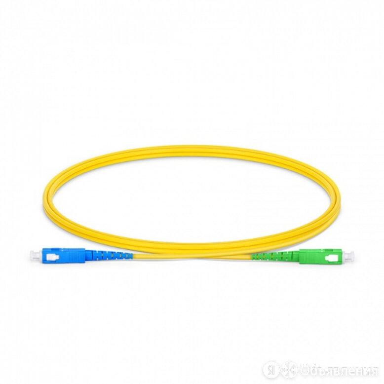 Симплексный оптический патч-корд TopLan PC-TOP-657A1-SC/U-SC/A-20 по цене 509₽ - Кабели и разъемы, фото 0