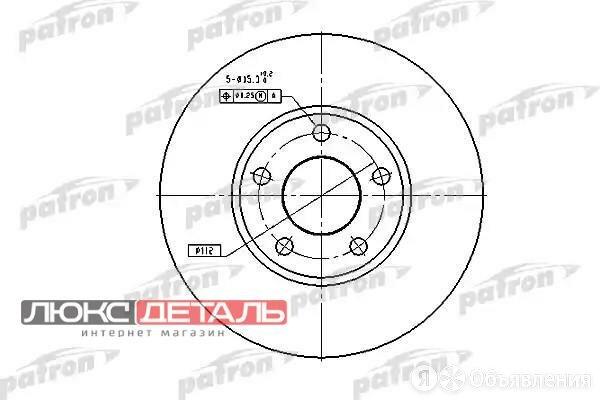 PATRON PBD2650 Диск тормозной пер.  по цене 1733₽ - Тормозная система , фото 0