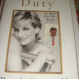 Литература на иностранных языках - Книга Paul Barell A Royal Duty о Принцессе Диане на английском языке 2008 год, 0