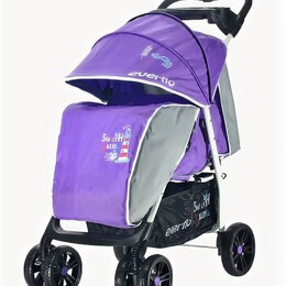 Коляски - Коляска прогулочная Everflo E-230 Capitan purple фиолетовый, 0