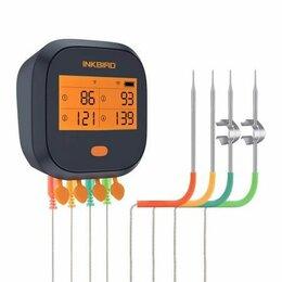 Аксессуары для грилей и мангалов - Цифровой кулинарный термометр inkbird bbq с wifi ibbq-4t, 0
