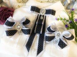 Украшения для девочек - Школьный галстук и пара бантиков , 0