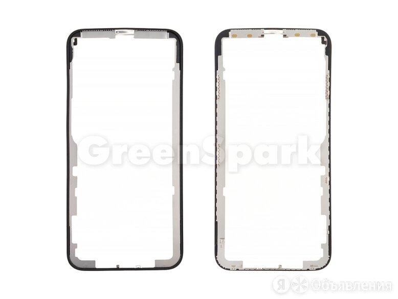 Рамка дисплея для iPhone X (черный) по цене 350₽ - Корпусные детали, фото 0