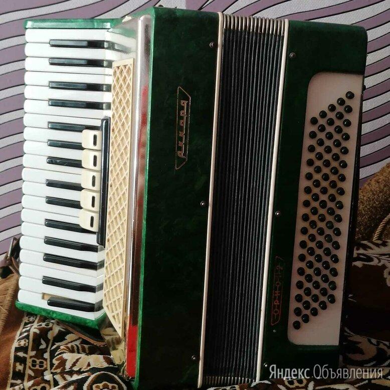 Аккордеон аккорд зелёный по цене 15000₽ - Аккордеоны, баяны, гармони, фото 0