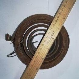 Уголки, кронштейны, держатели - Пружина противовеса Диаметр внешний 125 внутренний 40 ширина 35 загиб наружу, 0