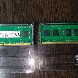 Модули памяти - 4GB Kingston ddr3 so-dimm оперативная память 2x, 0