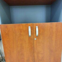 """Мебель для учреждений - Шкаф-стеллаж мобильный с замком коллекция """"BERLIN"""", цвет кальвадос, 0"""