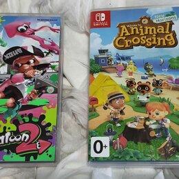 Игры для приставок и ПК - Animal Crossing New Horizons и Splatoon 2 для Nintendo Switc, 0