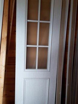 Межкомнатные двери - Двери распашные , с петлями и замком, 1 099 р за…, 0
