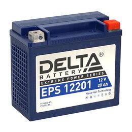 Блоки питания - Аккумулятор 12V 20А/ч (DELTA EPS 12201, NANO-GEL), 0