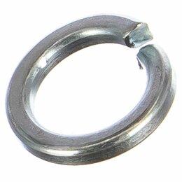 Шайбы и гайки - Оцинкованная пружинная шайба Метиз-Эксперт 12 DIN127 (1000 шт.), 0