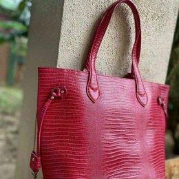 Сумки - Большая женская сумка из кожи игуаны оригинал Таиланд, 0