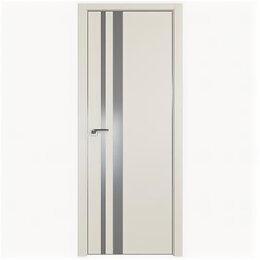 Межкомнатные двери - Межкомнатные двери Profil Doors 16E Магнолия Сатинат Стекло Lacobel Серебряны..., 0