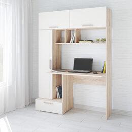 Компьютерные и письменные столы - Стол компьютерный квартет-11 текс, 0