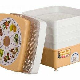 Сушилки для овощей, фруктов, грибов - 🆕️ Сушилка для овощей. d-33см. 5 поддонов. Квадрат, 0