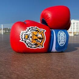 Боксерские перчатки - Детские боксерские перчатки reyvel tiger 4 oz, 0