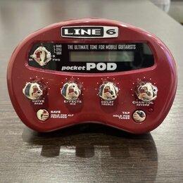 Процессоры и педали эффектов - Line 6 pocket pod, 0