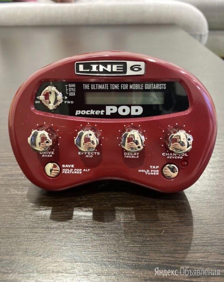 Line 6 pocket pod по цене 3900₽ - Процессоры и педали эффектов, фото 0