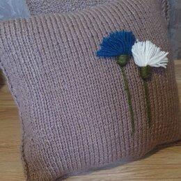 Декоративные подушки - Вязаные декоративные подушки, 0