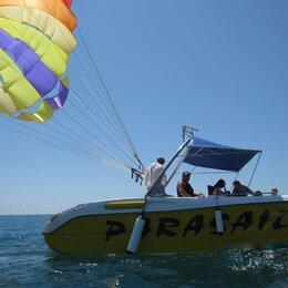 Экскурсии и туристические услуги - Полёты на парашюте за катером в Сочи , 0