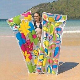 Круги и матрасы  - Матрас для плавания «Цветы», 183 х 76 см, 0