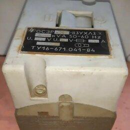 Трансформаторы - Трансформатор осзр-0,063-83 ухл3 220/12, 0
