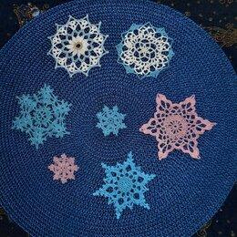 Ёлочные украшения - Новогодняя снежинка, 0