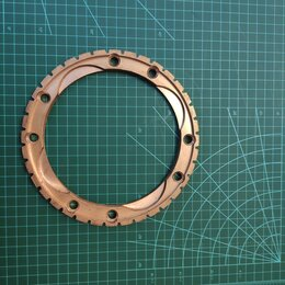 Трансмиссия  - 2 шт Кольцо синхронизатора делителя 202 КПП 201-1721157, 0
